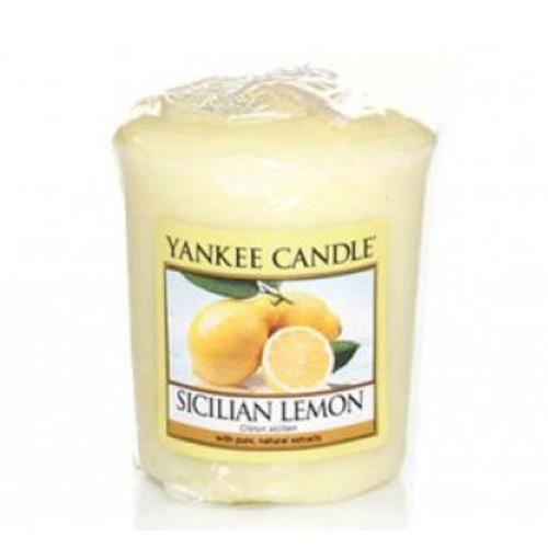 Votivní svíčka Yankee Candle Sicilian Lemon 49g