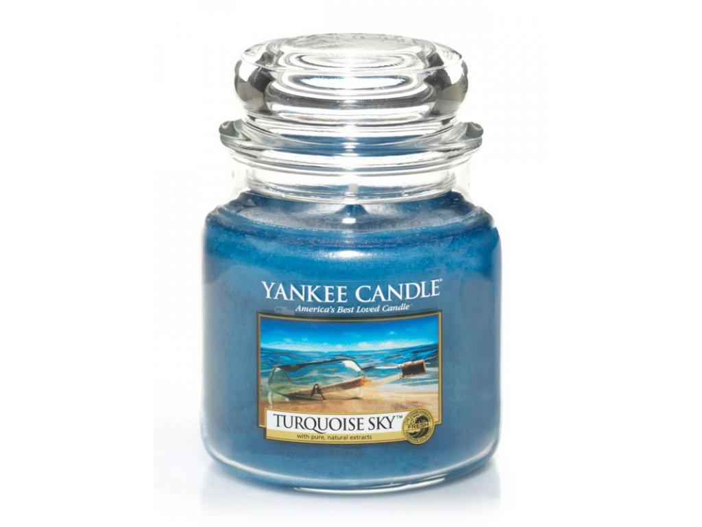 Svíčka Yankee Candle Turquoise Sky 411 g střední