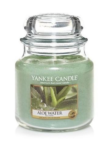 Vonná svíčka Yankee Candle Aloe Water 104 g