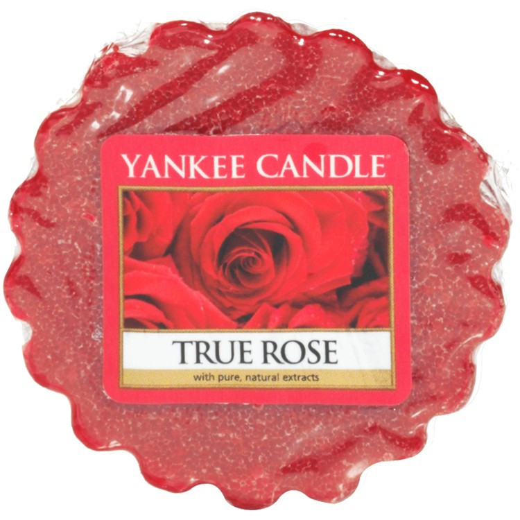 Vonný vosk Yankee Candle True Rose 22g