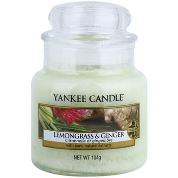 Vonná svíčka Yankee Candle Lemongrass & Ginger 104 g