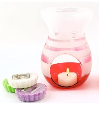 Aromalampa Yankee Candle Pink Fade