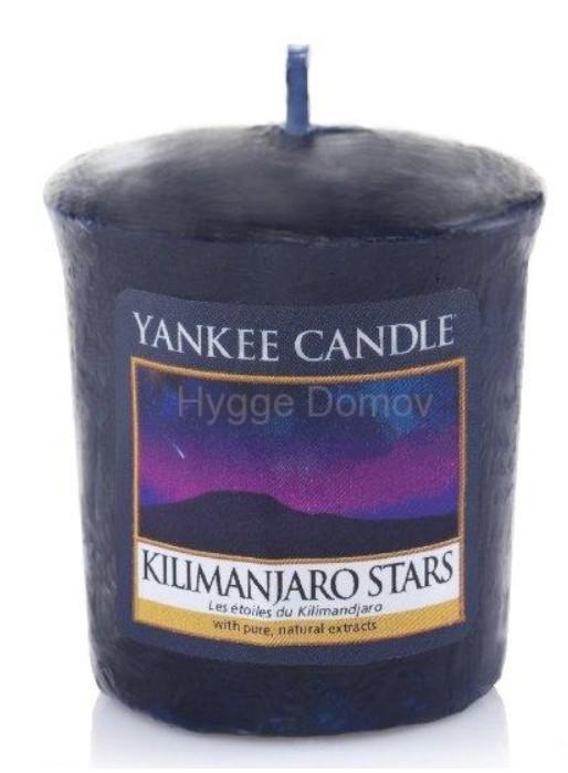Votivní svíčka Yankee Candle Kilimanjaro Stars 49g