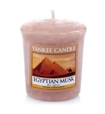Votivní svíčka Yankee Candle Egyptian Musk 49g