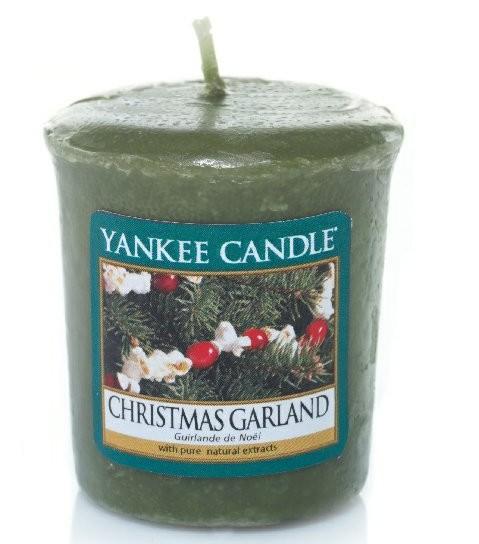 Votivní svíčka Yankee Candle Christmas Garland 49g
