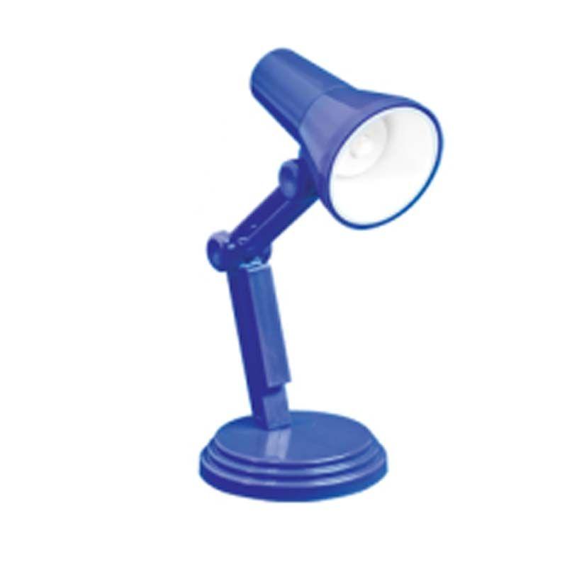 Minilampička na čtení LED modrá
