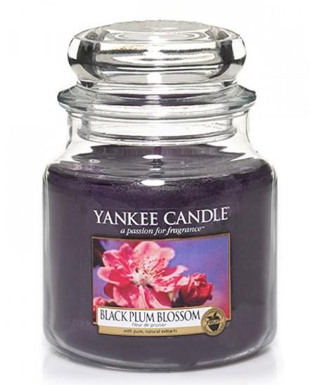 Svíčka Yankee Candle Black Plum Blossom 411 g