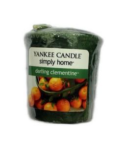 Votivní svíčka Yankee Candle Darling Clementine 49 g