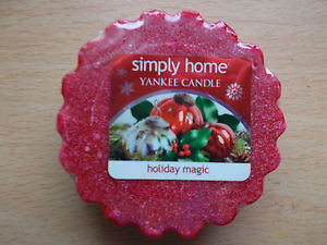 Vonný vosk Yankee Candle Holiday Magic 22 g