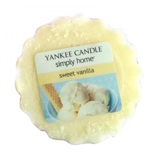 Vonný vosk Yankee Candle Sweet Vanilla 22 g