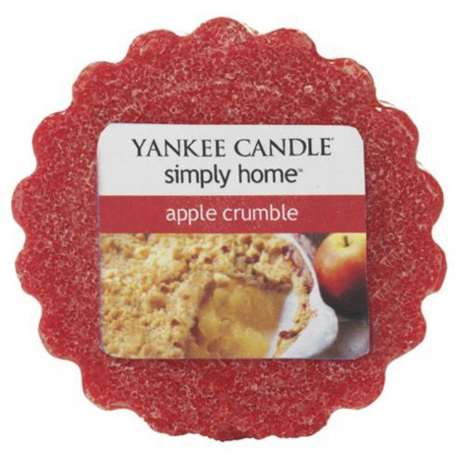 Vonný vosk Yankee Candle Apple Crumble 22 g