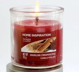 Yankee Candle Sparkling Cinnamon 113 g Pillar