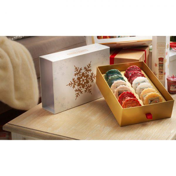 Dárkový set vosků Yankee Candle vánoční - 12 kusů