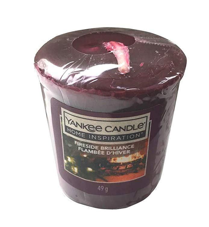 Votivní svíčka Yankee Candle Fireside Brilliance 49 g