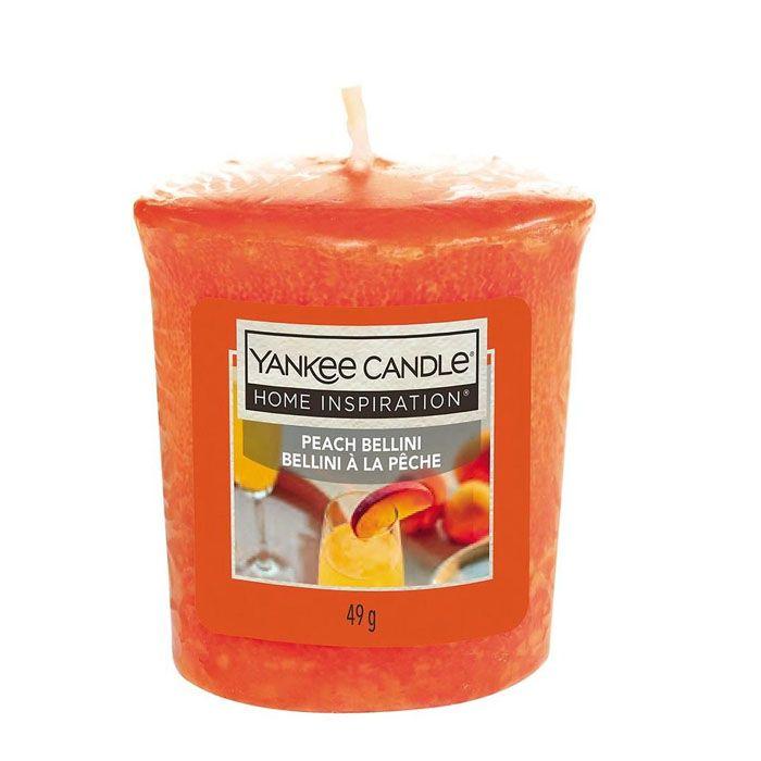 Votivní svíčka Yankee Candle Peach Bellini 49g