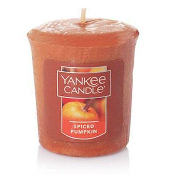 Votivní svíčka Yankee Candle Spiced Pumpkin 49g