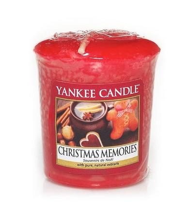 Votivní svíčka Yankee Candle Christmas Memories 49 g