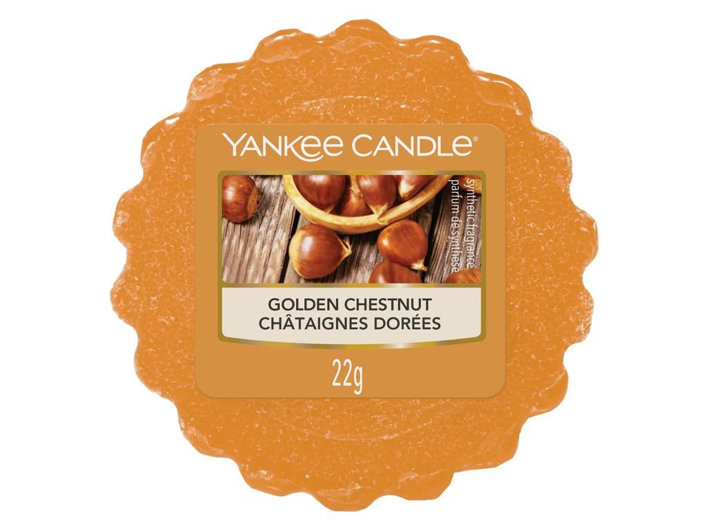 Vonný vosk Yankee Candle Golden Chestnut 22g