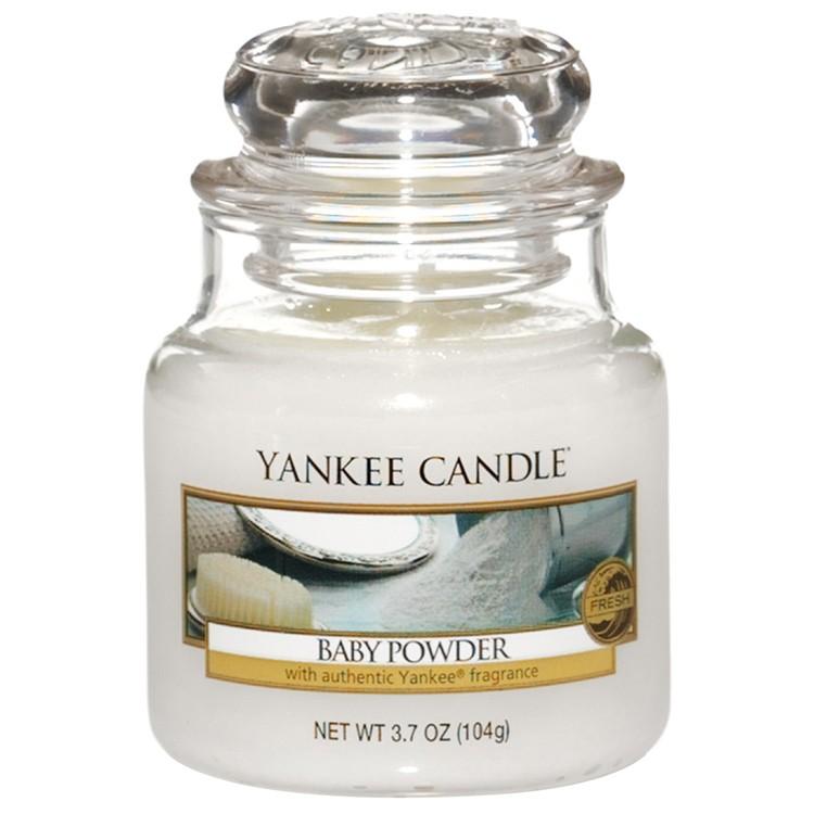 Vonná svíčka Yankee Candle Baby Powder 104 g
