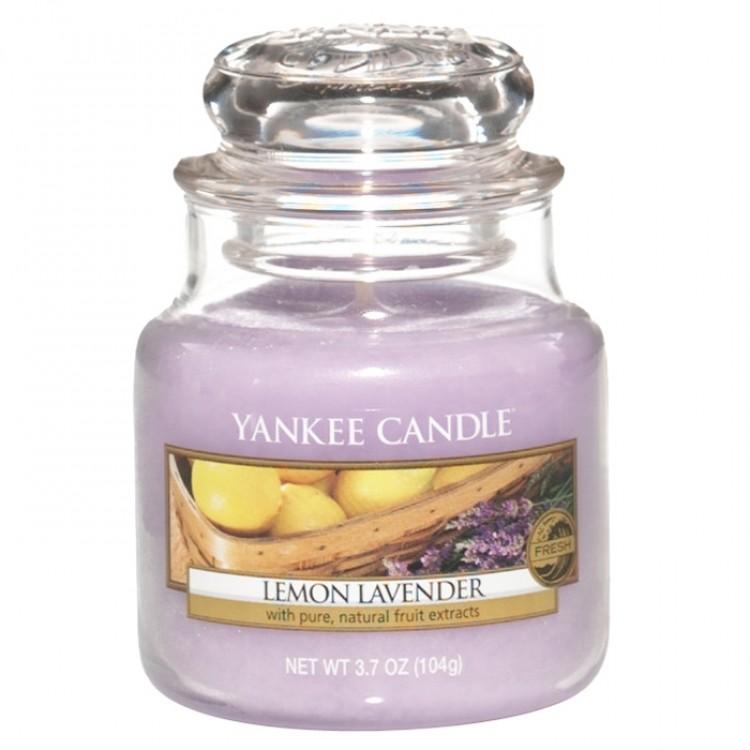 Vonná svíčka Yankee Candle Lemon Lavender 104 g