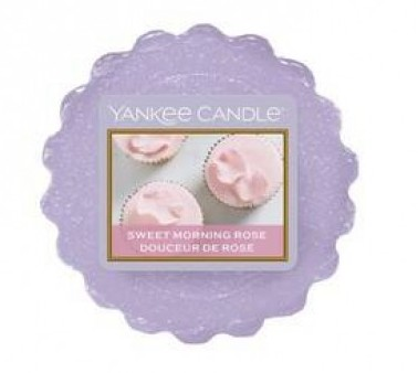 Vonný vosk Yankee Candle Sweet Morning Rose 22g