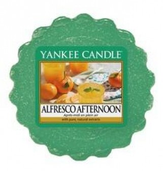 Vonný vosk Yankee Candle Alfresco Afternoon 22g