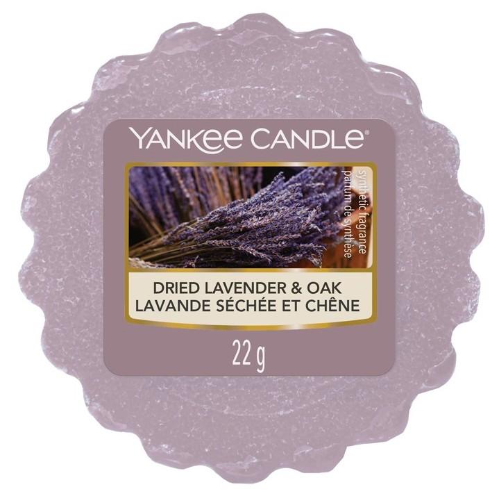 Vonný vosk Yankee Candle Dried Lavender & Oak 22g