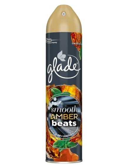 Glade® by Brise® Limited Edition Smooth Amber Beats osvěžovač vzduchu 300 ml