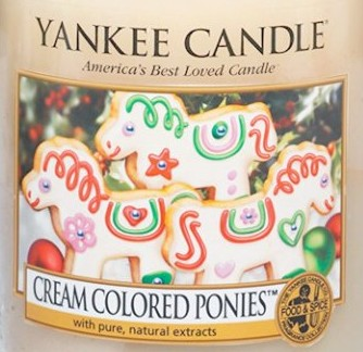 Crumble vosk Yankee Candle Cream Colored Ponies USA 22 g