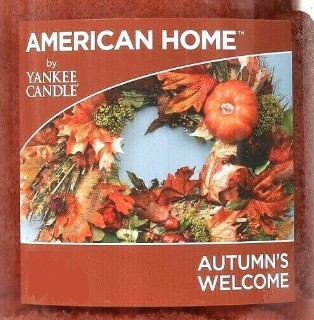 Crumble vosk Yankee Candle Autumn's Welcome USA 22 g