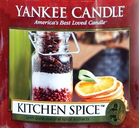 Crumble vosk Yankee Candle Kitchen Spice USA 22 g