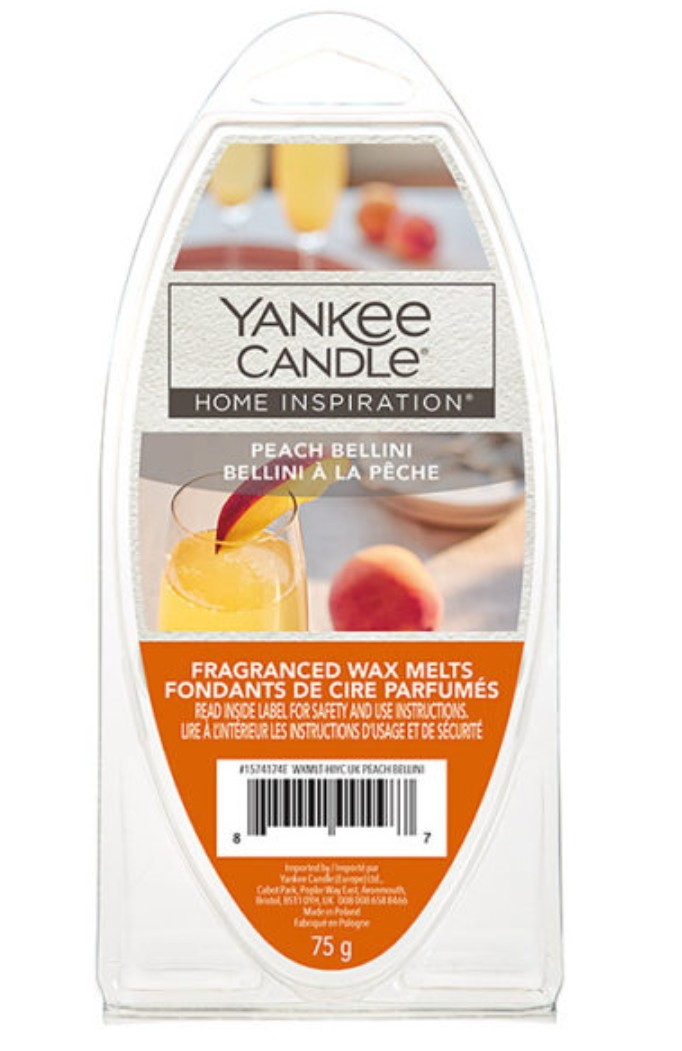 Vonný vosk Yankee Candle Peach Bellini 75 g