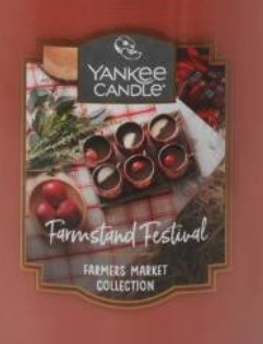 Crumble vosk Yankee Candle Farmstand Festival USA 22 g