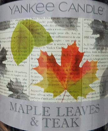 Crumble vosk Yankee Candle Maple Leaves & Teak USA 22 g