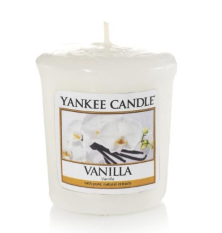 Votivní svíčka Yankee Candle Vanilla 49g