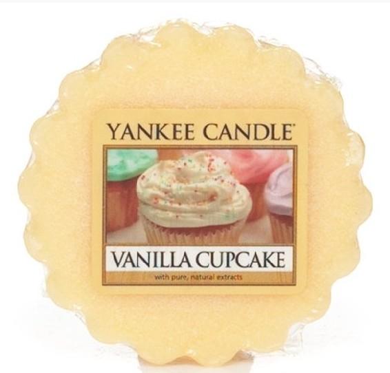 Vonný vosk Yankee Candle Vanilla Cupcake 22g