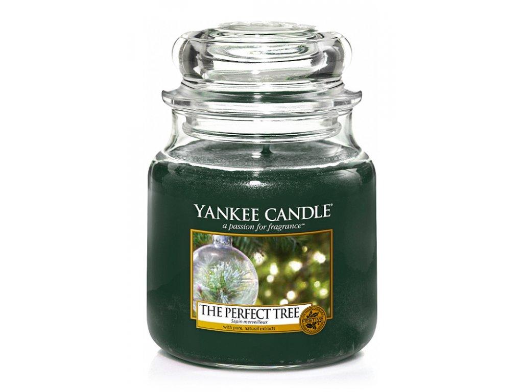 Svíčka Yankee Candle The Perfect Tree 411 g střední