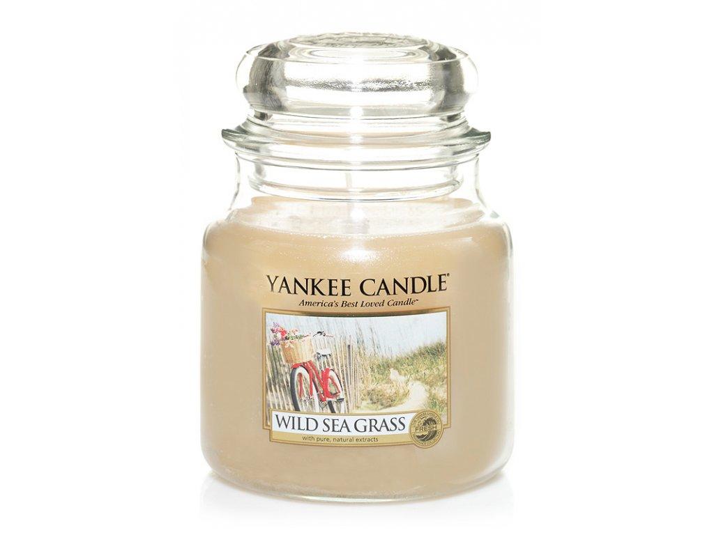 Svíčka Yankee Candle Wild Sea Grass 411 g