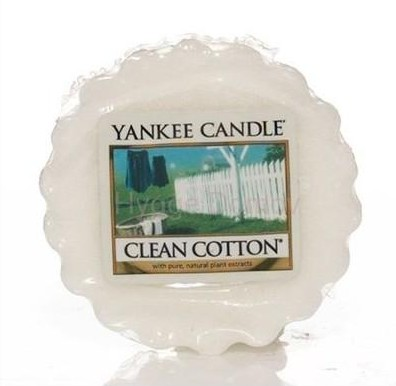 Vonný vosk Yankee Candle Clean Cotton 22g