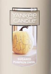 Crumble vosk Yankee Candle Sugared Pumpkin Swirl USA 22 g