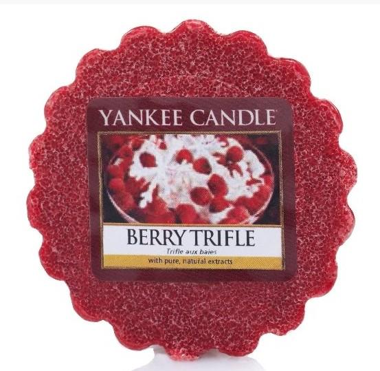 Vonný vosk Yankee Candle Berry Trifle 22g