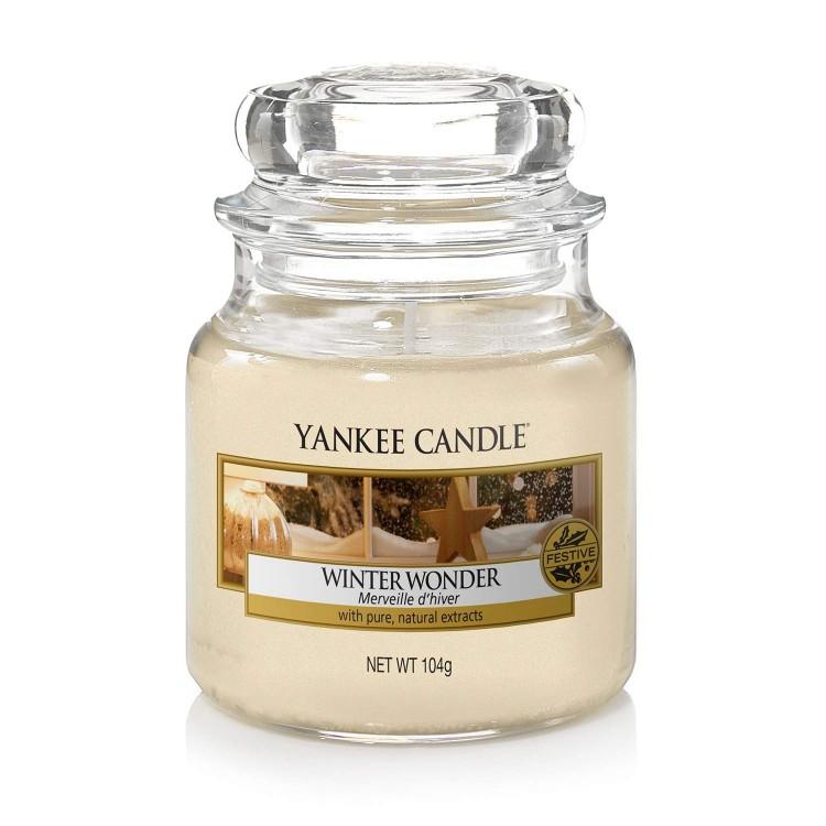 Vonná svíčka Yankee Candle Winter Wonder 104 g