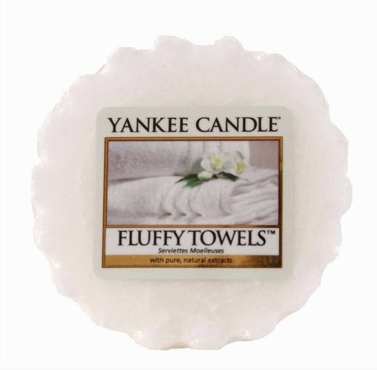 Vonný vosk Yankee Candle Fluffy Towels 22g