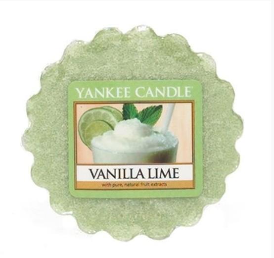 Vonný vosk Yankee Candle Vanilla Lime 22g