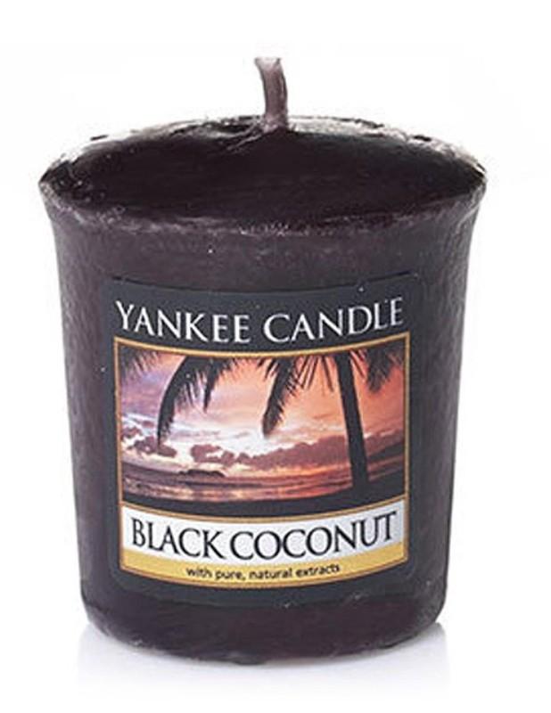 Votivní svíčka Yankee Candle Black Coconut 49 g