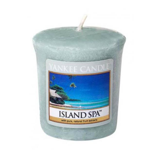 Votivní svíčka Yankee Candle Island Spa 49g