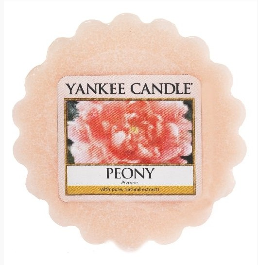 Vonný vosk Yankee Candle Peony 22g