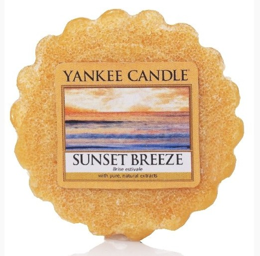 Vonný vosk Yankee Candle Sunset Breeze 22g