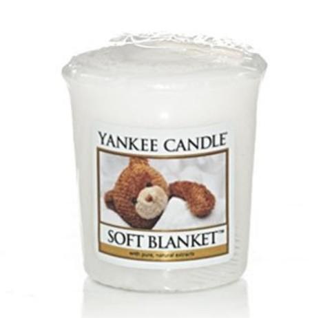 Votivní svíčka Yankee Candle Soft Blanket 49g