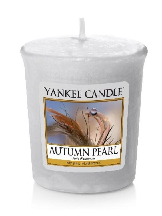 Votivní svíčka Yankee Candle Autumn Pearl 49g